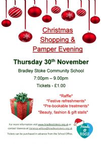Christmas Shopping & Pamper Event